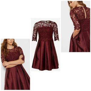 NWT Ted Baker Maaria Lace dress US size 2